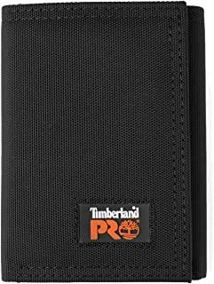 Timberland PRO Men's Cordura Nylon RFID Trifold Wallet with ID Window
