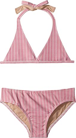 Toobydoo - Lollipop Pink Bikini (Infant/Toddler/Little Kids/Big Kids)
