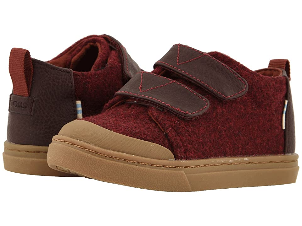 TOMS Kids Lenny Mid (Infant/Toddler/Little Kid) (Burnt Henna Heavy Wool) Kid
