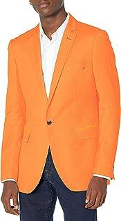 Azaro Uomo Men's Blazer Slim Dress Casual Linen Suit Sport Jacket Stylish