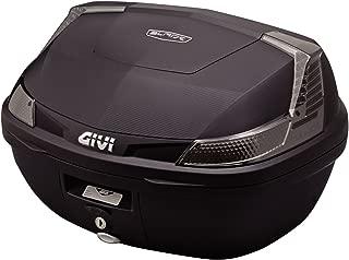 GIVI(ジビ)【イタリアブランド】  モノロックケース(トップケース) 未塗装ブラック TECHスモークレンズ B47NTMLD 76885 高性能&スタイリッシュデザイン