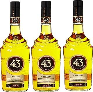 3 Flaschen Licor 43 cuarenta Y Tres likör a 1000ml 3 x 1 l