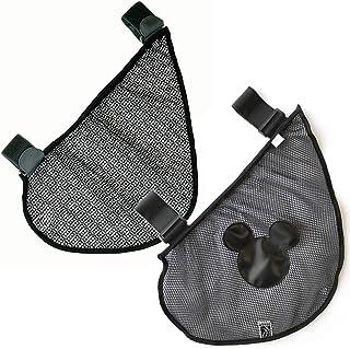 ベビーカー用 サイドネットバッグ 大口収納ポケット (入り口伸縮機能) 「日本正規品」 (J.L. Childress ジェイエルチルドレス) Side Sling Stroller Cargo Net ミッキーマウス