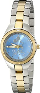 Disney Women's W001907 Mickey Mouse Two-Tone Stainless Steel Watch