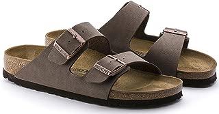 Birkenstock Arizona 2-Strap Cork Footbed (Women's) Mocha Birkibuc Sandals (37 M EU, US 6-6.5)