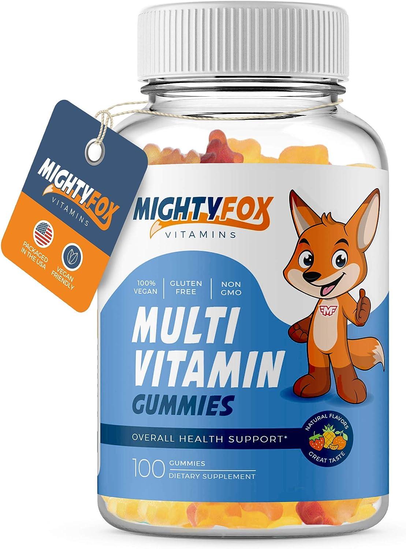 Kids Multivitamin Gummies - Gluten-Free Vegan Non-GMO Multivit Challenge the lowest price of Japan discount