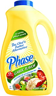 Phase Oil W/ Garlic -- 3 Case 1 Gallon