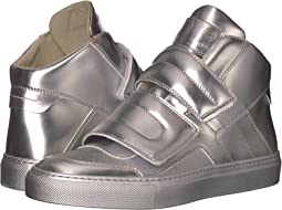 MM6 Maison Margiela - Brushed Metal High Top