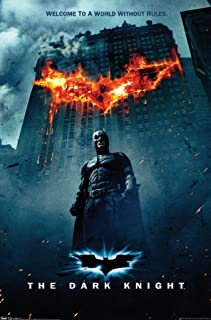 """Trends International Dark Knight One Sheet Fire Wall Poster 22.375"""" x 34"""""""