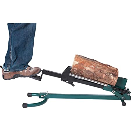 Quality Craft Foot-Operated Log Splitter - 1.5-Ton Capacity, Model# LSF-001