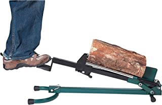 Quality Craft Foot-Operated Log Splitter – 1.5-Ton Capacity, Model# LSF-001