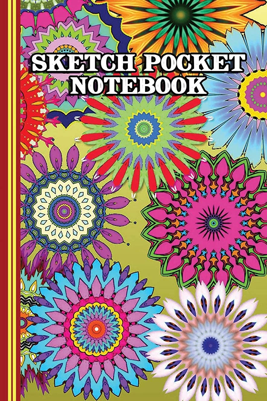 宙返り経営者三番Sketch Pocket Notebook: Practice Drawing, Paint, Write, Doodle, 6