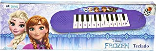 Teclado Musical Frozen etitoys Roxo