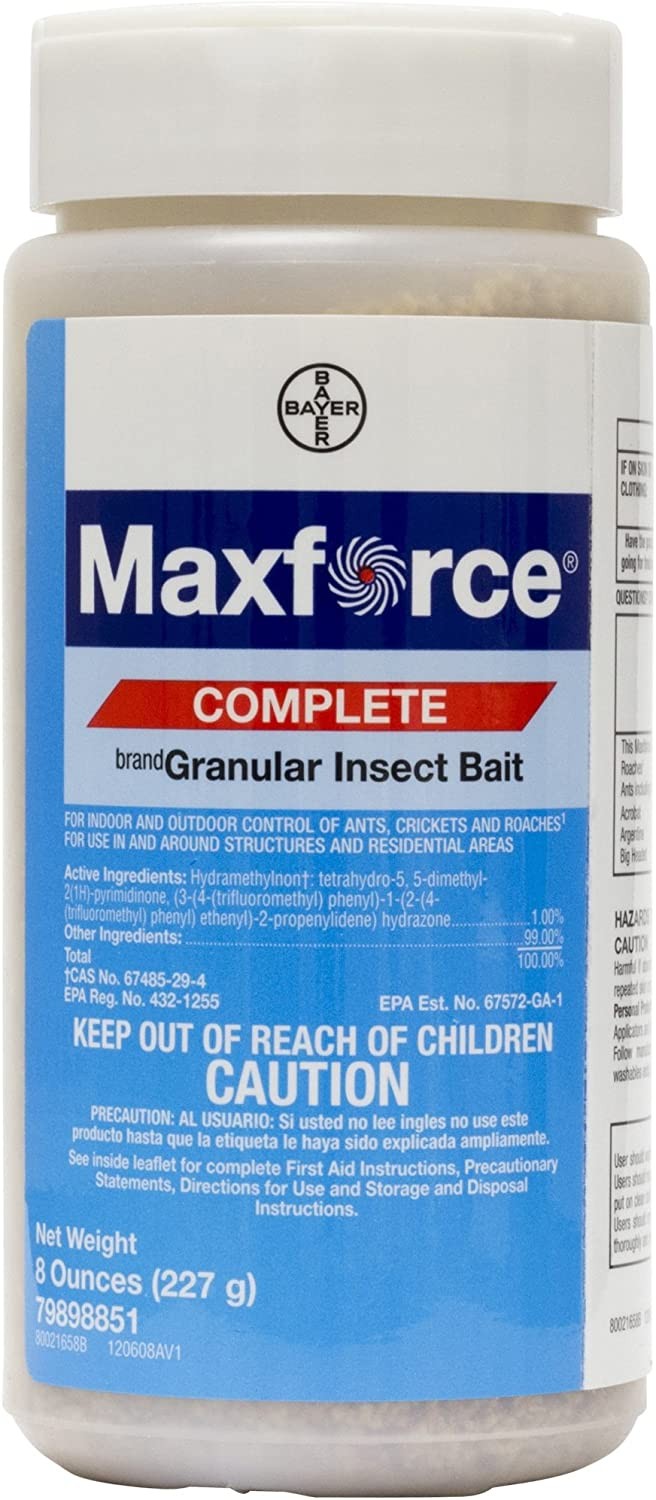 Maxforce Complete Granular Insect Bait Portland Mall BA1024 - Max 45% OFF Ounces 8
