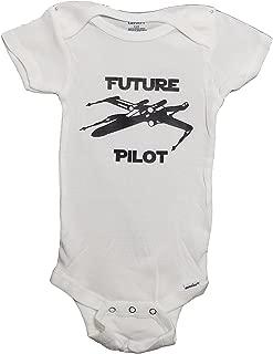 Mari Kyrios Creations Star Wars Rebel X Wing Future Pilot Onesie Resistance Baby Jumpsuit Pajamas & Bodysuit Romper PJ