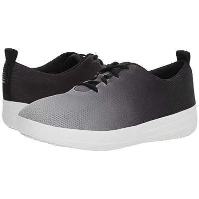 FitFlop Neoflex Slip-On Sneakers (Black/Soft Grey) Women