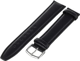 Hadley-Roma Men's 20mm Watch Strap, Color:Black (Model: MSM881LA-200)