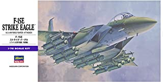 Hasegawa Mcdonnell Douglas F-15E Strike Eagle, 1/72 Scale E Series US Air Force Fighter Aircraft Model Kit/Item # 00540