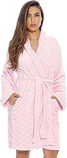 Just Love Kimono Robe/Velour Scalloped Texture Bath Robes for Women