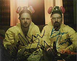 Breaking Bad cast 8x10 reprint signed photo #4 RP Cranston Paul