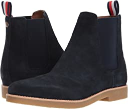 55d599092 Tommy Hilfiger Navy Boots + FREE SHIPPING