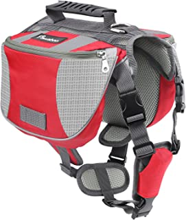 Pawaboo Mochila del Perro - Adjustable Bolsa de Sillín