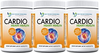 Cardio Heart Health-L-Arginine Powder Supplement-5000mg Plus 1000mg L-Citrulline-with Minerals, and Antioxidants Vitamin C...