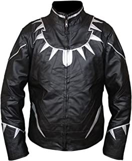 F&H Kid's Captain America Civil War Black Panther Jacket