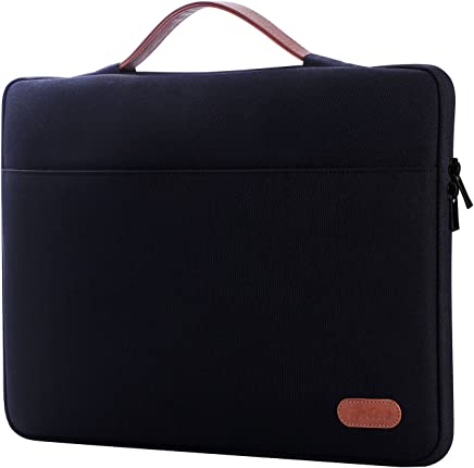 "ProCase 14-15.6 Inch Laptop Sleeve Case Protective Bag for 15"" MacBook Pro 2016, Ultrabook Notebook Carrying Case Handbag for 14"" 15"" ASUS Acer Lenovo Dell HP Toshiba Chromebook Computers -Black"