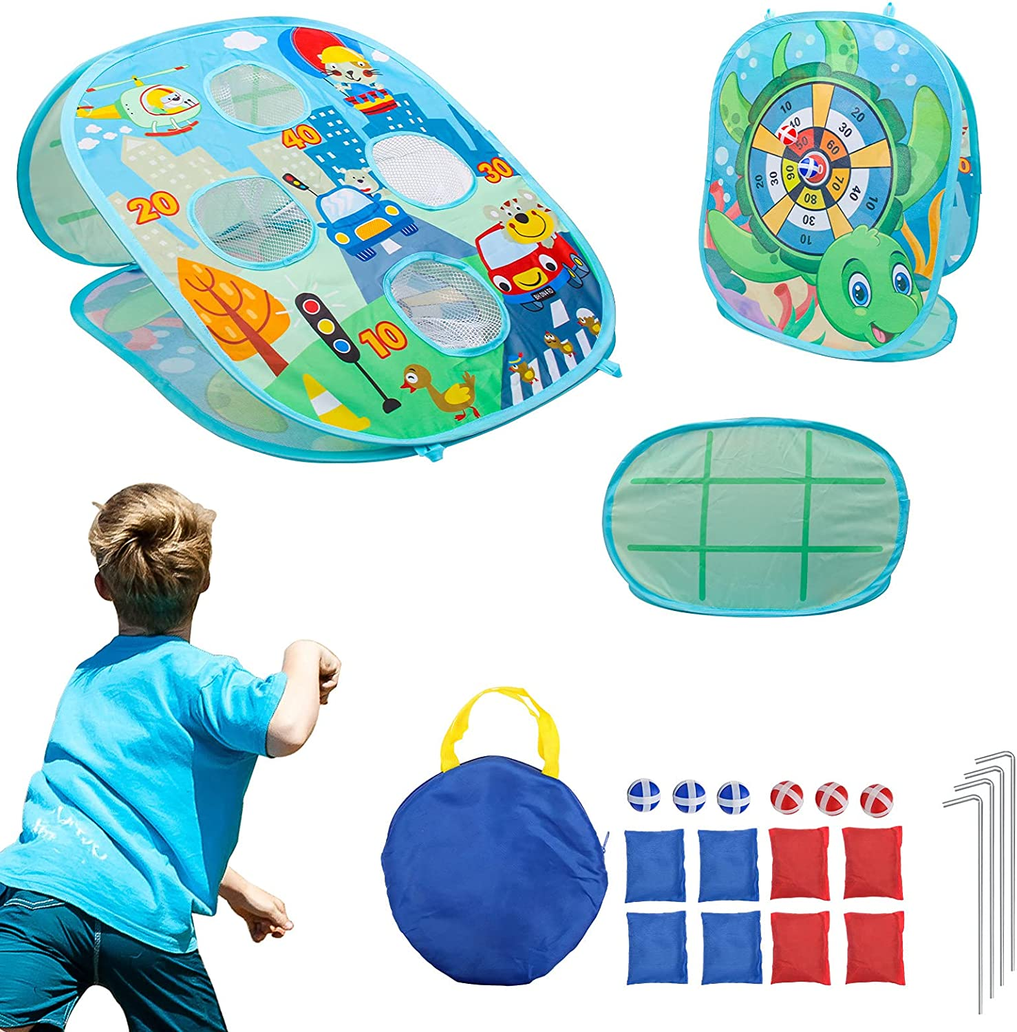 Max 85% OFF 5% OFF Bean Bag Toss Games for Kids Bags Set Hand Toy Outdoor