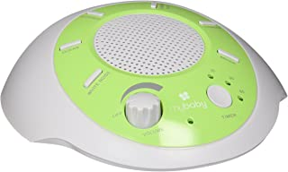 MyBaby Sound Spa Glow Portable Machine, Green/White