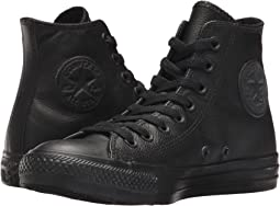 0d91d2e04988 Black Mono Leather. 1020. Converse. Chuck Taylor® All Star® Leather Hi