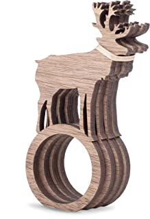 Best wooden napkin rings Reviews