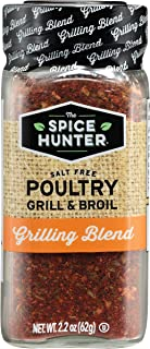 The Spice Hunter Salt Free Poultry Grill & Broil Blend, 2.2-Ounce Jar