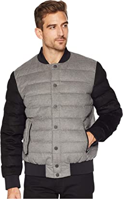 Gavin Wool Bomber Jacket