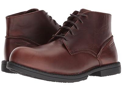 Wolverine Bedford Chukka Steel Toe (Brown) Men