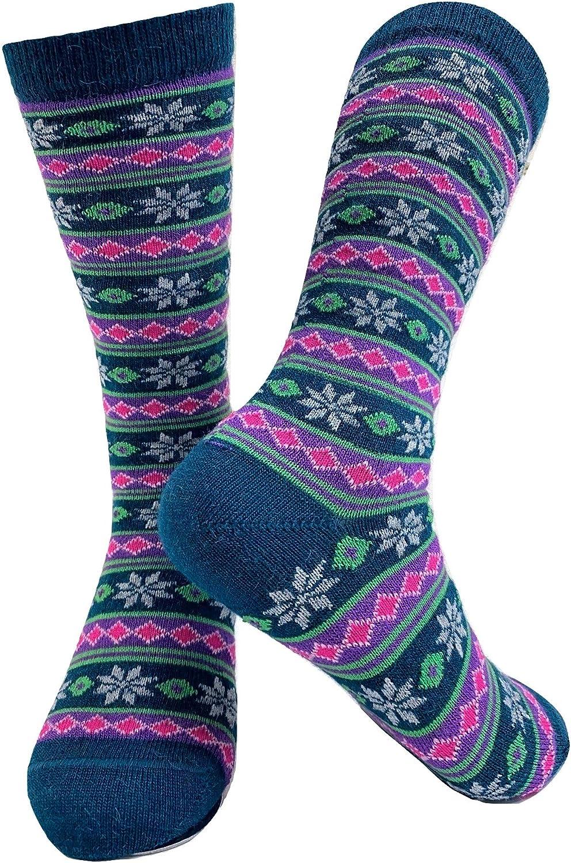 Super High Content Alpaca Crew Length Made in U.S.A. Matisse Alpaca Socks
