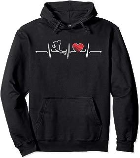 Pool Billiard Snooker Heartbeat Gift EKG Billiard Lover Pullover Hoodie