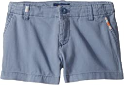 Embroidered Chino Shorts (Little Kids)