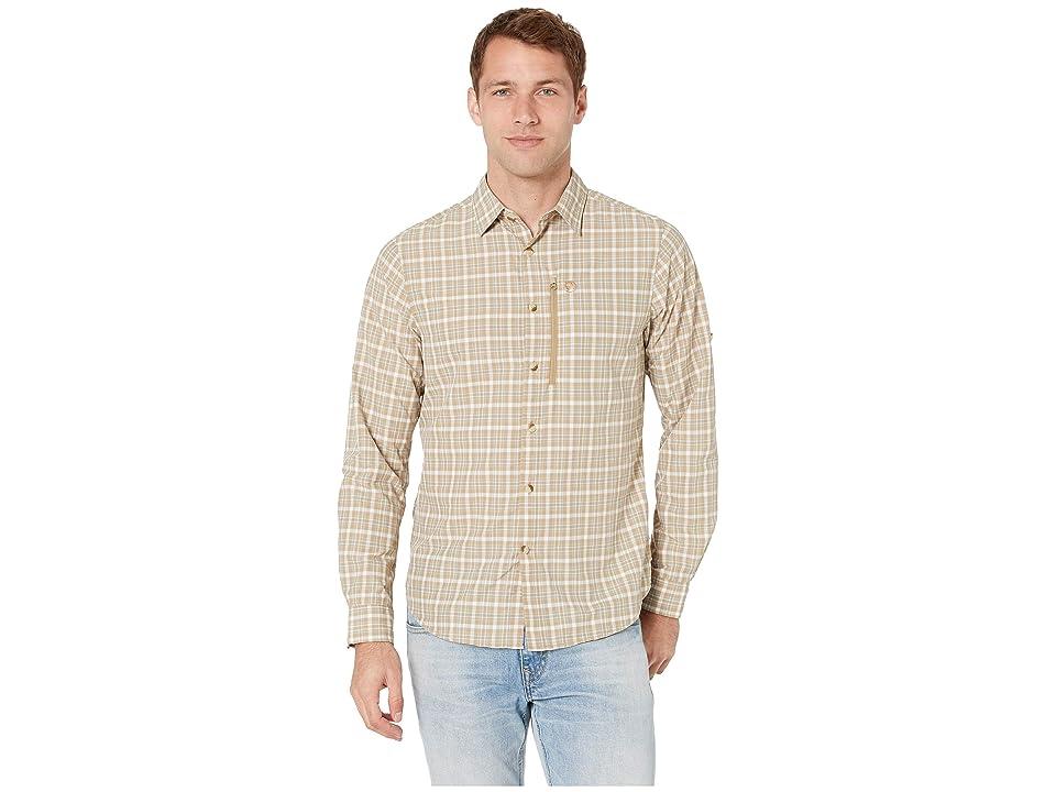 Fjallraven Abisko Hike Shirt Long Sleeve (Sand) Men