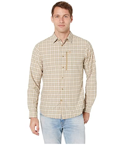 Fjallraven Abisko Hike Shirt Long Sleeve (Sand) Men