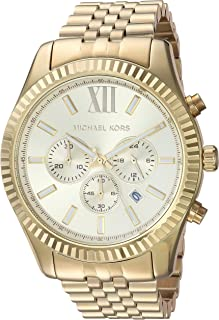 Michael Kors Men's Lexington Chronograph Stainless Steel Watch
