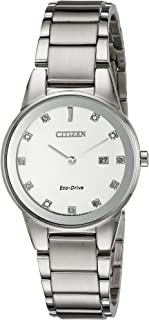 Citizen Women's Eco-Drive Axiom Watch with Diamond Accent, GA1050-51B