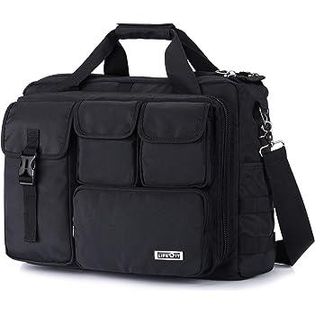 Lifewit 17 inch Men's Military Laptop Messenger Bag Multifunction Tactical Briefcase Computer Shoulder Handbags, Black