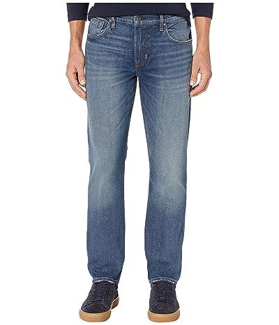 Hudson Jeans Blake Slim Straight Zip in Hard Ball (Hard Ball) Men