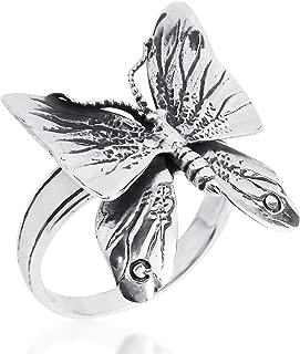 fluttering butterfly ring