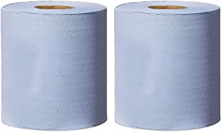 DIECH White Paper Rolls 2 x 2 Ply Embossed Centrefeed Tissue Kitchen Paper Hand Towel Durable /& Strong For Heavy-Duty Wiping Tasks White Roll Paper Hand Towel Wipe Tissue