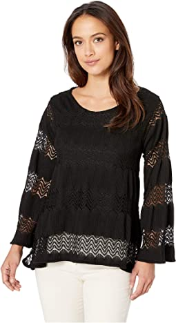 Lace Trapeze Top