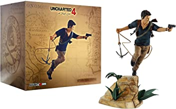 Gaya-Uncharted Statue Estatua desconocida Nathan Drake, Multicolor, 26 cm (GAYA43.UK.EK01)