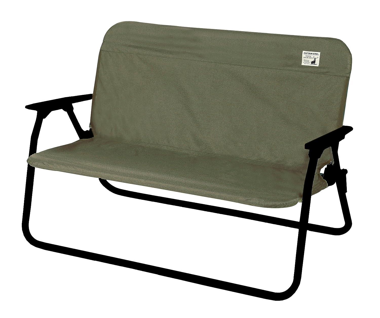 キャプテンスタッグ(CAPTAIN STAG) ベンチ カバー アルミ背付きベンチ用 着せかえカバー